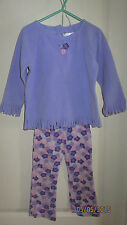 Baby Toddler 4T The Children's Place Purple Pink Outfit Long Sleeve Shirt Pants