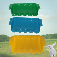 Hanging Hay Grass Rack Feeder Tool For Rabbit Small Animals Plastic Dish Bowl