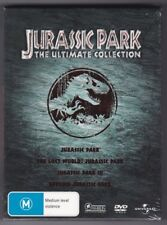 Jurassic Park - The Ultimate Collection - DVD (Brand New Sealed)  Regions 2,4,5
