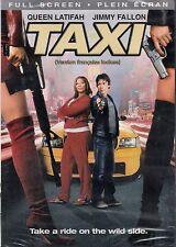 NEW DVD // TAXI - Queen Latifah, Jimmy Fallon, Henry Simmons, Jennifer Esposito,