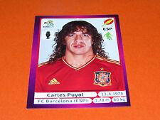 289 CARLES PUYOL BARCELONA ESPAGNE ESPAÑA  FOOTBALL PANINI UEFA EURO 2012