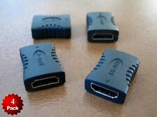 4 x HDMI Female to Female 3D HD 1080P Coupler Coupling Joiner Extender Adapter