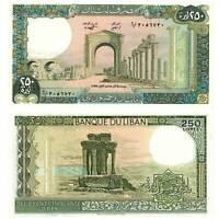 Pick 67e Libanon / Lebanon 250 Livres 1988  Unc. / 647381vvv