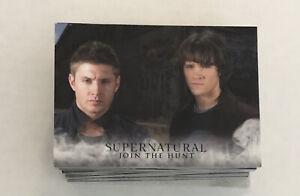 2014 Cryptozoic Supernatural Seasons 1-3 Complete Base Set Cards 1-72!