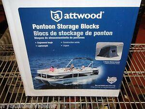 PONTOON BOAT STORAGE BLOCKS 114014 4000LBS EACH MAX LOAD SET OF 4 BLOCKS