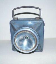 Ancienne lampe de poche wonder type cargot lentille mica