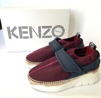 Kenzo K Lastic Espadrille Sneakers Womens Slip On