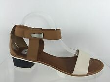 Dolce Vita Womens Brown Leather Sandals 9