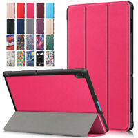 For Lenovo Tab E10 10.1 inch TB-X104F Tablet Case Slim Leather Shell Fold Cover