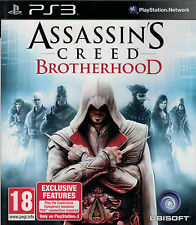 Assassins Creed Brotherhood, Sony Playstation 3, PS3 game complete, USED