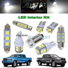 9x White LED Map Dome lights interior package kit fit 2016 UP Toyota Tacoma