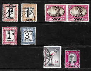 South West Africa .. Includes Postage Due & South African Overprints .. 5052