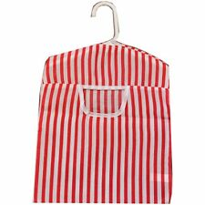 Peg Bag Clothes Line Hanger Laundry Bucket Basket Pegbag Fabric & PVC Pattern
