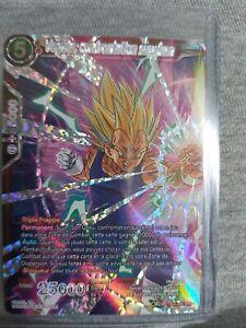 Dragon Ball Super Card Game FR Vegeta,confrontation suprême TB2-005 SPR