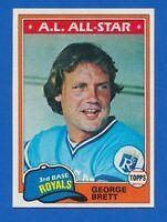 1981 Topps #700 George Brett Kansas City Royals HOF NM-MT