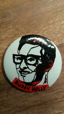 Buddy Holly artist singer rock n roll pop vintage buttons LARGE BUTTON