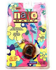 FACTORY SEALED New Nano Baby Virtual Pet 1997 NIP NIB Playmates Vintage Orange