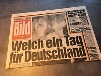Bildzeitung 02.10.1989 Oktober besonderes Geschenk 30. 31. 32. 29. Geburtstag