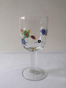 Leonardo Millefiori Wine Glass Goblet