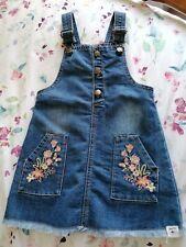 Girls Mantaray Denim Dress 3-4