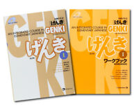 GENKI 1: An Integrated Course in Elementary Japanese Text book and Workbook Set