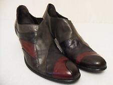 Everybody Damenschuhe Ankle Heel Pixie Budapester Oxford Schuhe Pöms Leder Gr 43