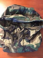 Camo ECWCS Wet Weather Parka goretex Jacket Improved Rainsuit Woodland MEDIUM
