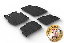 Design Passform Gummimatten Gummi Fußmatten für Mitsubishi Space Star ab 2014>