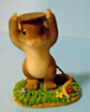 "Charming Tails ""Penny For Your Thoughts"" Figurine Fitz & Floyd 89/118"