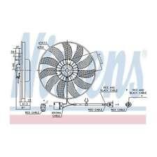 Fits VW Golf MK6 1.4 Genuine OE Quality Nissens Engine Cooling Radiator Fan