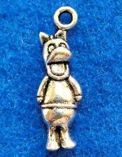 20Pcs. Tibetan Silver DAFFY DUCK Cartoon Charms Pendants Earring Drops AN110