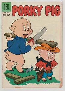 PORKY PIG #72 VG 1960 DELL COMICS