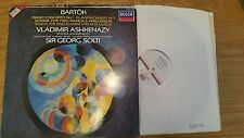 BARTOK ASHKENAZY - SOLTI PIANO CONCEERTO No1 - 4101081 - LP