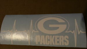 Green Bay Packers Life car decal
