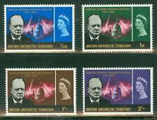 BRITISH ANTARCTIC TERR #16-19 Complete Churchill set, og, NH, VF, Scott $46.35