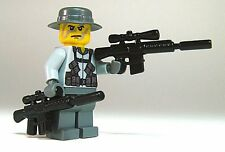 Brickarms M110 SASS Sniper Rifle for Custom Minifigures -5 PACK-