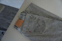 Levis Levi's Herren Jeans Hose 33/32 W33 L32 Stonewashed Grau TOP AD35