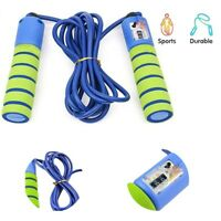 Skipping Rope Adjustable Jump Boxing Fitness Speed Rope Counter Training Gym