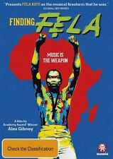 Finding Fela - Music Is The Weapon (DVD, 2015) New  Region 4