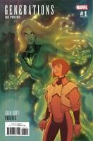 Generations: Phoenix & Jean Grey #1 1:25 Variant Cover by Stephane Roux