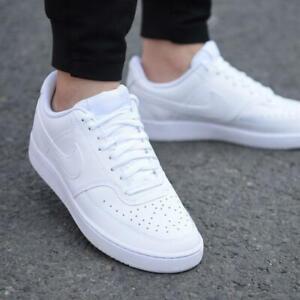 Nike Court Vision Lo Herren Sneaker Turnschuhe Freizeit Leder Classic CD5463 100