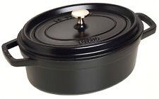 Staub Cocotte ovale 27,0 cm, 3,2 l, nera