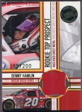 Denny Hamlin 2005 Press Pass Rookie Top Prospect Sheet Metal #DH-SM 195/200