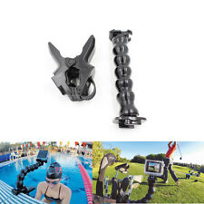 Jaws Flex Clamp Adjustable Neck Mount for GoPro Hero 5 3 3+ 4 4 session Sjcam