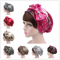 Muslim Women Head Scarf Hat Hijab Flower Beanie Cancer Chemo Wrap Caps Turban