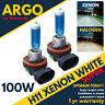 H11 Xenon White 711 Headlight 100w Pgj19-2 Front Fog Drl Car Bulbs Headamps 12v