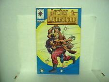 Archer and Armstrong #0 Valiant comic book special cover