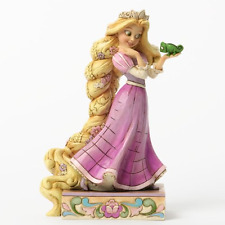 Disney Traditions Jim Shore Tangled Ornament Rapunzel and Pascal Figurine