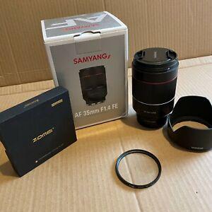 Samyang AF 35mm F1.4 Autofocus Lens for for Sony FE - PLUS EXTRAS
