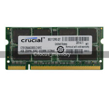 New Crucial 4GB DDR2 PC2-6400 800MHZ 200pin Laptop Memory Sodimm Speicher Ram